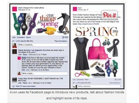grandes marcas en Facebook