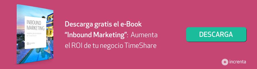 Inbound Marketing, aumenta el ROI de tu negocio TimeShare