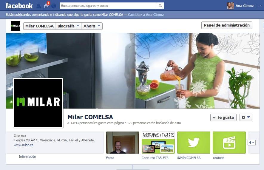 milar-facebook-fanpage