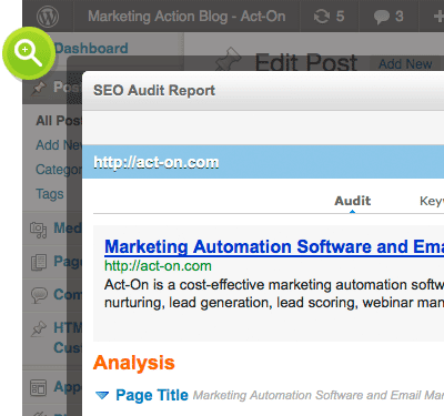 Software 'marketing automation': HubSpot vs. Act-On